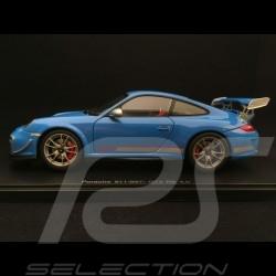 Porsche 911 GT3 RS 4.0 type 997 phase II 2012 1/18 Autoart 78145 bleu Mexico blue blau