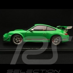 Porsche 911 GT3 RS 4.0 type 997 mark II 2012 viper green 1/18 Autoart 78149