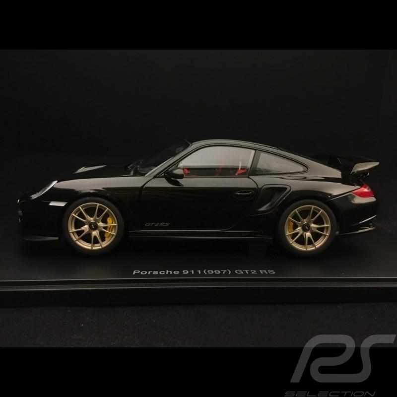 gt2 RS 2010 Black 1:18 Autoart Porsche 911 997