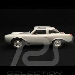 Porsche Glöckler 356 Coupé 1954 silver grey 1/18 BOS BOS235