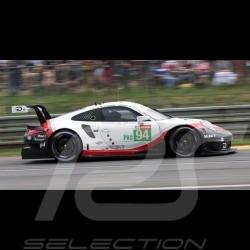 Porsche 911 RSR type 991 24h du Mans 2018 n° 94 Porsche Team 1/43 Spark S7035