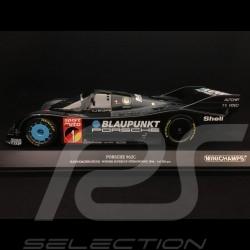 Porsche 962 C n° 1 Blaupunkt Vainqueur winner Sieger ADAC Supercup Nürburgring 1986 1/18 Minichamps 155866501