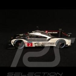 Porsche 919 Hybrid - HY n° 2 LMP1 Vainqueur Winner Sieger Le Mans 2016 1/43 Spark MAP02031616