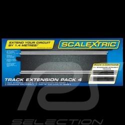 Bahnset Scalextric Verlängerungspaket n° 4 Scalextric C8526