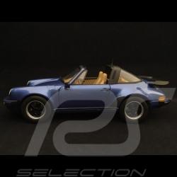 Porsche 911 Turbo Targa 1987 blue metallic 1/18 Norev 187663