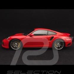 Porsche 911 Turbo S type 991 mark II 2016 red 1/18 Minichamps 110067122
