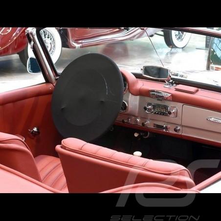 Couvre-volant souple noir protection pour l'intérieur Qualité Premium steering wheel cover Lenkrad-Schonbezug