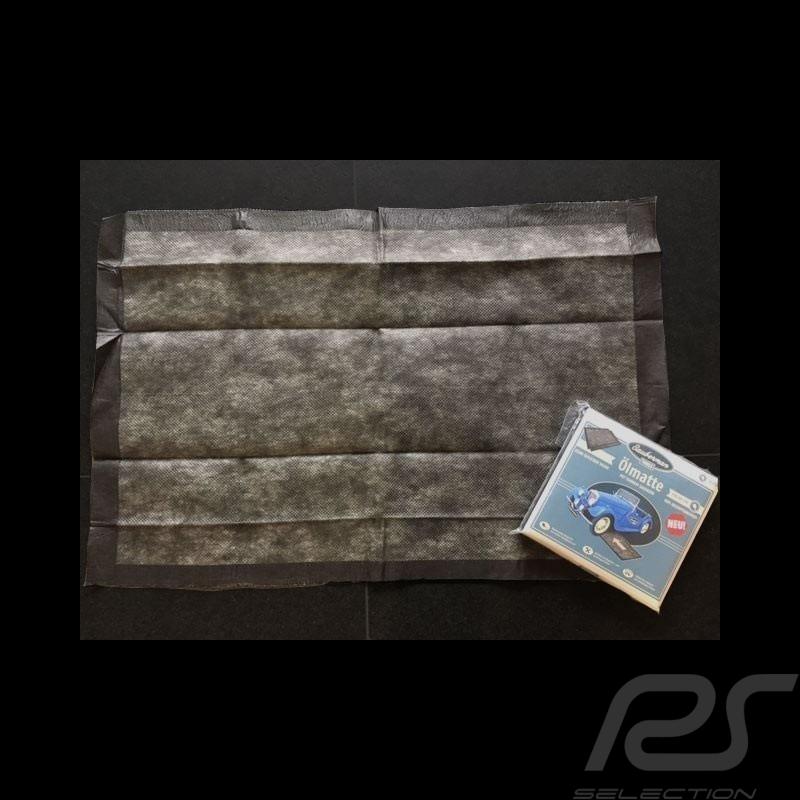 Tapis absorbant huile et solvants noir / protection de sol Qualité Premium Oil and solvents absorbent mat Ölmatte / Lösungsmitte