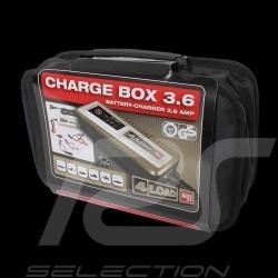 Chargeur de batterie 12 V / 3.6 A pour voiture, moto et batteries AGM / GEL Battery charger Batterie-Ladegerät