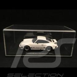 Porsche 911 Carrera 2.7 1975 Weiss 1/43 Kyosho 05521W