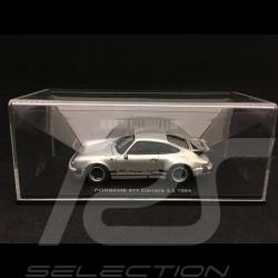 Porsche 911 Carrera 3.2 1984 silver 1/43 Kyosho 05522S