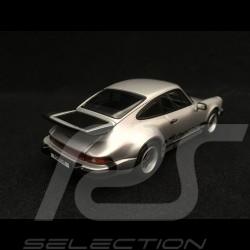 Porsche 911 Carrera 3.2 1984 1/43 Kyosho 05522S gris argent silver grey silbergrau