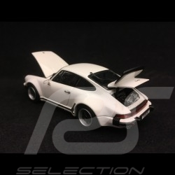 Porsche 911 Turbo 3.0 type 930 1975 white 1/43 Kyosho 05524W
