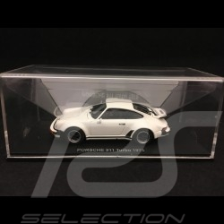Porsche 911 Turbo 3.0 type 930 1975 1/43 Kyosho 05524W blanc Grand Prix white weiß