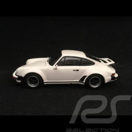Porsche 911 Turbo 3.0 type 930 1975 weiss 1/43 Kyosho 05524W