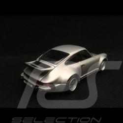 Porsche 911 Turbo 3.0 type 930 1975 silver 1/43 Kyosho 05524S
