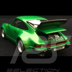 Porsche 911 Turbo 3.0 type 930 1975 grün 1/43 Kyosho 05524G