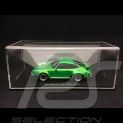 Porsche 911 Turbo 3.0 type 930 1975 green 1/43 Kyosho 05524G