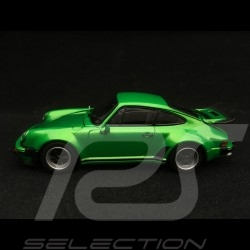 Porsche 911 Turbo 3.0 type 930 1975 grün metallic 1/43 Kyosho 05524G