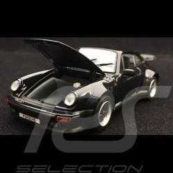 Porsche 911 Turbo 3.3 type 930 1989 dark blue 1/43 Kyosho 05525DB
