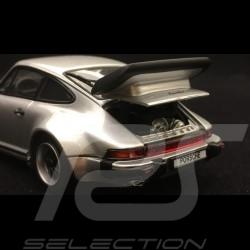 Porsche 911 Turbo 3.3 type 930 1989 silber 1/43 Kyosho 05525S