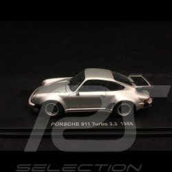 Porsche 911 Turbo 3.3 type 930 1989  1/43 Kyosho 05525S gris argent silver grey  silbergrau