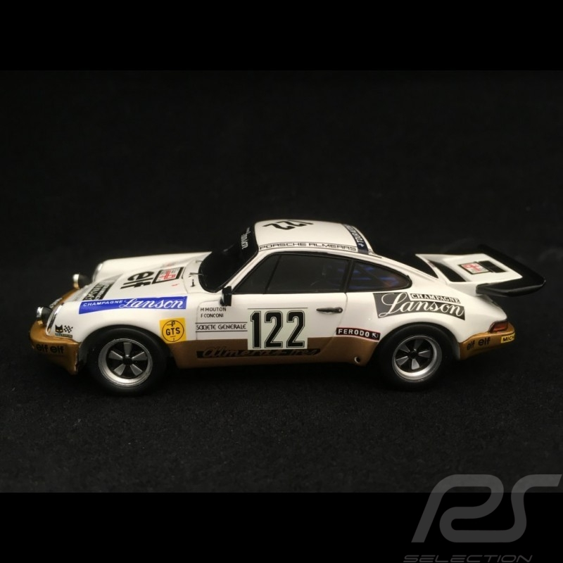 Porsche 911 Carrera 3.0 RS groupe 3 Tour Auto 1977 n° 122 Mouton 1/43 Spark SF116