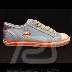 Gulf Sneaker / Basket Schuhe Converse style Gulfblau - Herren