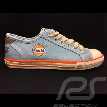 Gulf sneaker / basket shoes Converse style Gulf blue - men