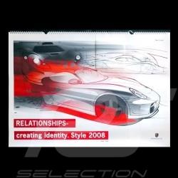 Calendrier Porsche 2008 Relationships - Creating Identity - Style 2008 Porsche Design WAP09200318