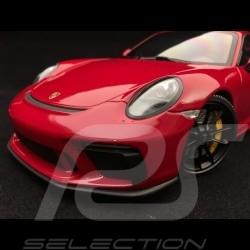 Porsche 911 GT3 type 991 mk II 2018 rouge 1/18 Minichamps 110067020