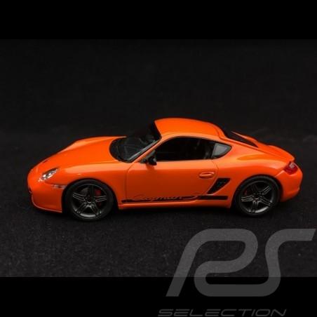 Porsche Cayman S 987 Sport 2008 orange 1/43 Minichamps 400065625