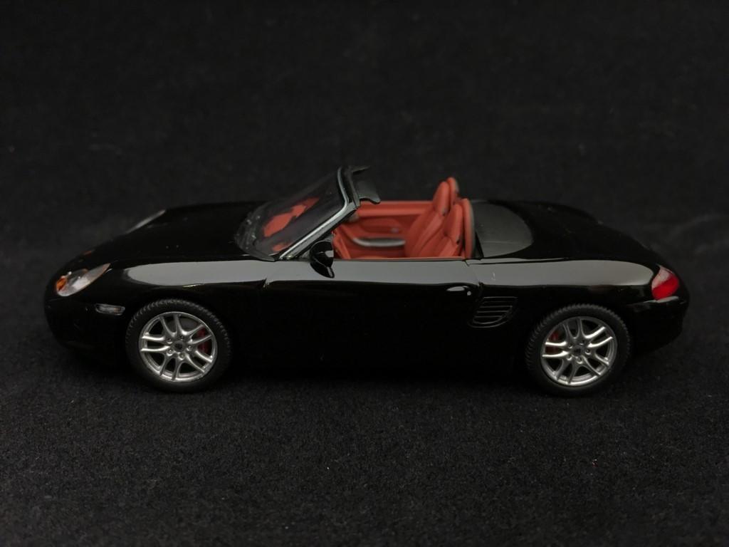 Porsche Boxster S 986 2002 Black 1 43 Minichamps 400062070 Selection Rs