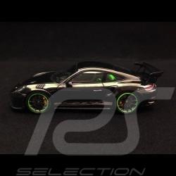 Porsche 911 GT3 RS type 991 Pack Weissach 2018 noir 1/43 Spark WAX02020083