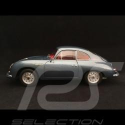 """Porsche 356 A Carrera Coupé """" 70 Ans Porsche"""" bleu 1/18 Schuco 450031200"""