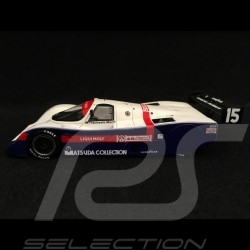 Porsche 962 C GTI Fuji 1987 n° 15 1/43 Spark SJ045