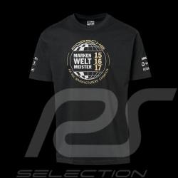 Porsche T-shirt 919 Triple Marken Weltmeister 2015 2016 2017 black Porsche WAP851 - unisex