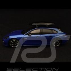 Porsche Panamera 4 E-hybrid ST Tequipment 1/43 Spark WAX02020061 bleu saphir metallisé sapphire blue metallic saphirblau