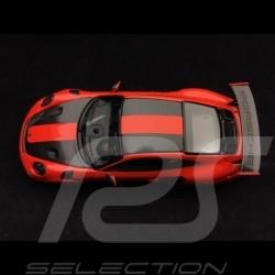 Porsche 911 GT2 RS type 991 2018 Pack Weissach 1/43 Minichamps 410067224 orange fusion lava orange