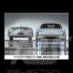 Plaque aimantée Magnet Porsche 70 ans 356 n°1 - 1948 / Mission e - 2018 version 1
