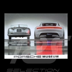 Magnet Porsche 70 years 356 n°1 - 1948 / Mission e - 2018 version 1 frontview