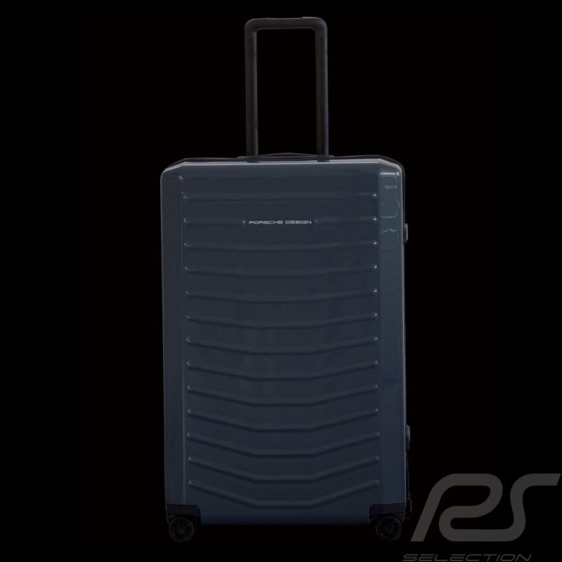 Bagage Porsche Trolley LVZ Bleu graphite RHS2 400 taille Large Porsche Design 4090002704 luggage Reisegepack