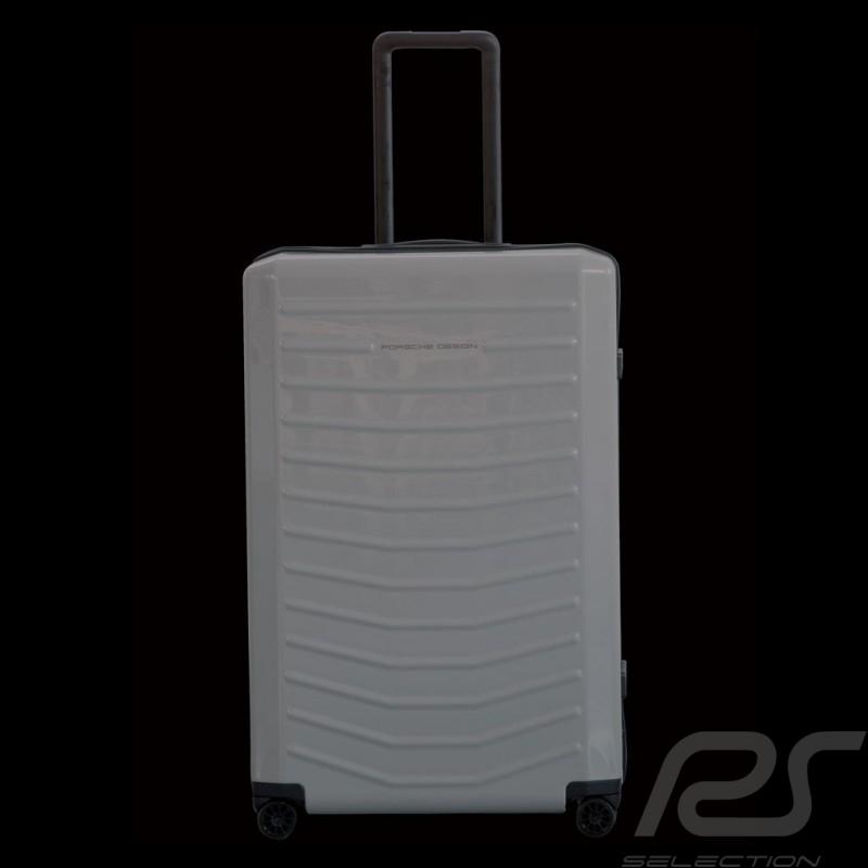 Bagage Porsche Trolley LVZ gris craie RHS2 801 taille Large Porsche Design 4090002704 luggage reisegepack