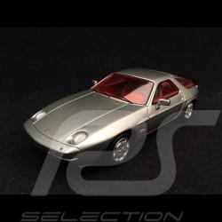 Porsche 928 S 1980 1/43 Spark MAP02005317 Gris argent métallisé Silver grey metallic Silbergrau