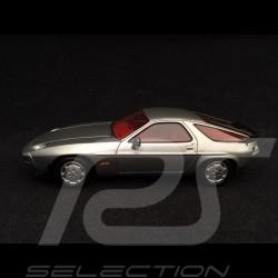 Porsche 928 S 1980 Silbergrau metallic 1/43 Spark MAP02005317