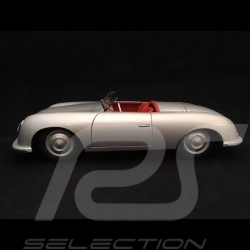 Porsche 356 n° 1 1948 Edition 70 ans 1/18 Autoart MAP02100118 gris argent silver grey silbergrau 70 years 70 Jahre