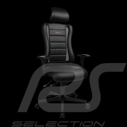 Siège de bureau ergonomique Sitness RS simili cuir noir fauteuil gamer Made in Germany burosthul armchair