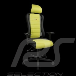 Ergonomic office armchair Sitness RS Sport Light green / black leatherette gaming chair Made in Germany