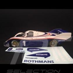 Porsche 956 K 6h Silverstone 1982 n° 1 Rothmans 1/18 Minichamps 155826601 vainqueur de class class winner klassensieger