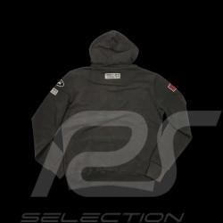 Veste à capuche hoodie Jo Siffert gris carbone - homme hood kapuzn jacke jacket